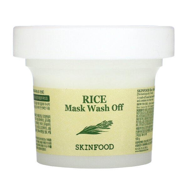 Rice Beauty Mask Wash Off, 3.52 oz (100 g)