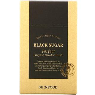 Skinfood, Black Sugar, Perfect Enzyme Powder Wash, 30 Packets, 0.04 fl oz (1.2 g) Each