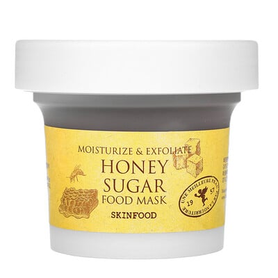 Skinfood Honey Sugar Food Mask, 4.23 fl oz (120 g)