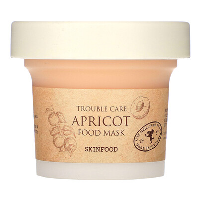 Skinfood Apricot Food Mask, 4.23 fl oz (120 g)  - купить со скидкой