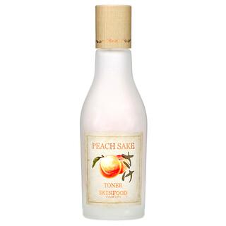 Skinfood, Peach Sake Toner, 4.56 fl oz (135 ml)