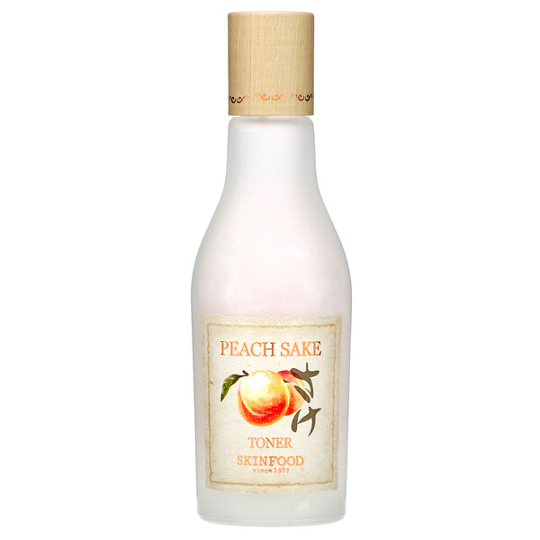 Peach Sake Toner, 4.56 oz (135 ml)