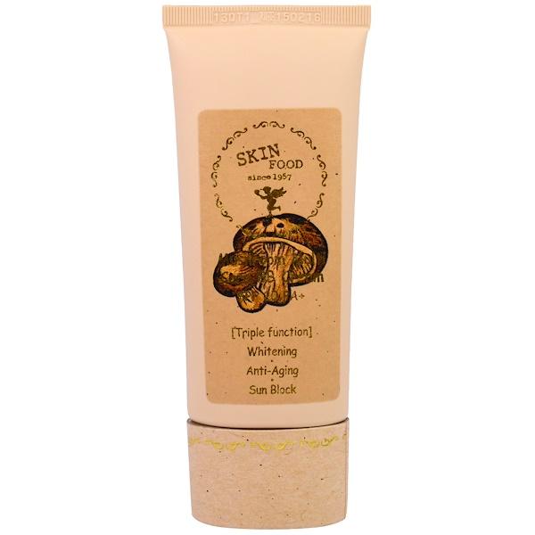 Skinfood, Mushroom Multi Care BB Cream SPF 20 PA+, #1 Bright Skin, 50 g (Discontinued Item)