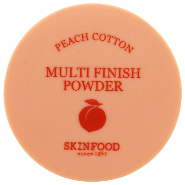Skinfood, Multi-Finish-Puder, Pfirsich-Baumwolle, 15 g (Discontinued Item)