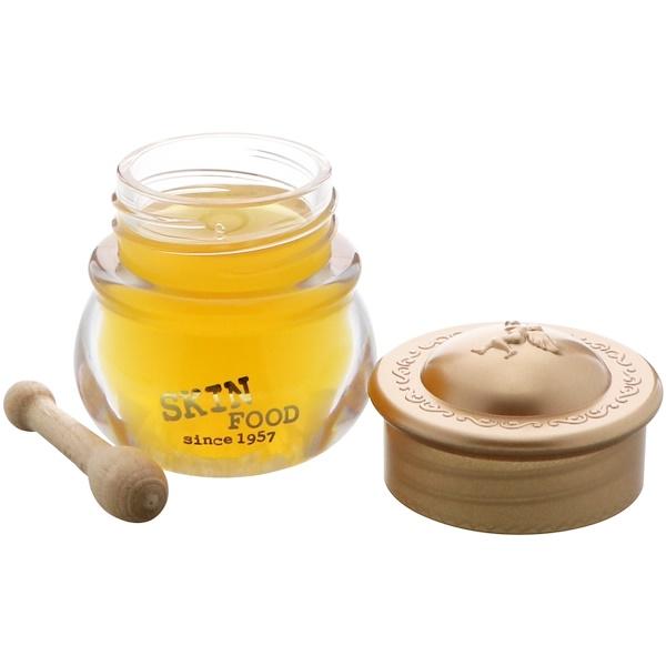 Skinfood, Горшочек меда, бальзам для губ, № 3, мед, 0,23 унц. (6,5 г) (Discontinued Item)
