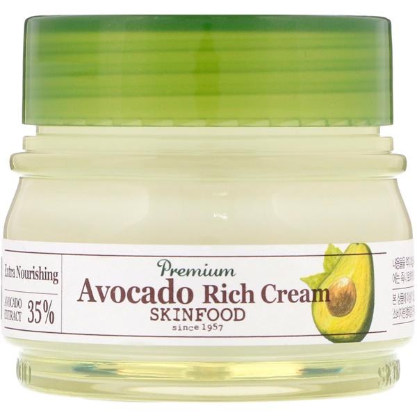 Skinfood, Крем с высоким содержанием авокадо премиального качества, 2,13 ж. унц.(63 мл)
