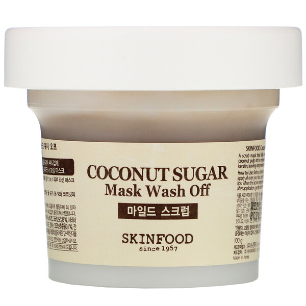 Skinfood, Coconut Sugar Mask Wash Off, 3.52 oz (100 g) (Discontinued Item)