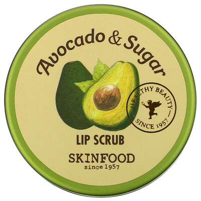 Skinfood Avocado & Sugar Lip Scrub, 0.49 fl oz (14 g)