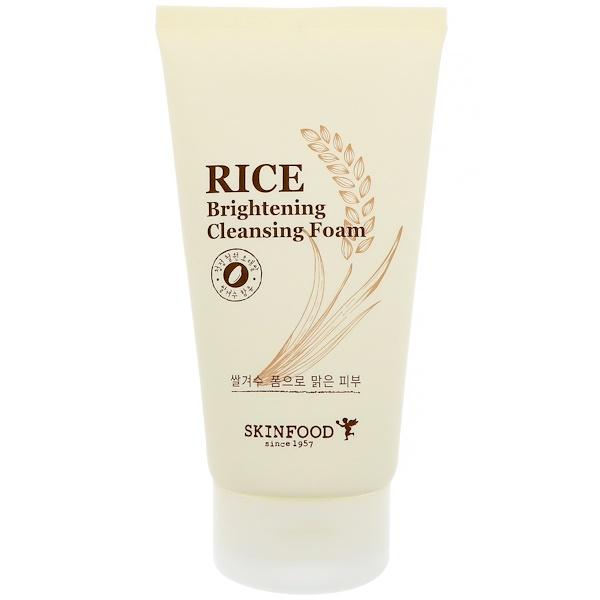Skinfood, Рисовая осветляющая чистящая пенка, 5,07 ж. унц. (150 мл) (Discontinued Item)