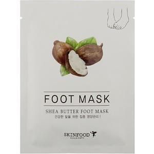 Скин Фуд, Shea Butter Foot Mask, 0.54 fl oz (16 ml) отзывы