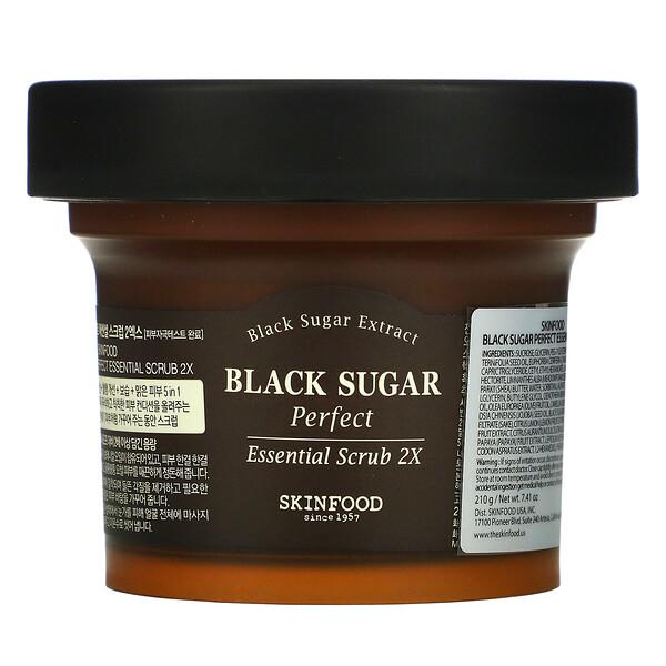Black Sugar Perfect Essential Scrub 2X, 7.41 oz (210 g)