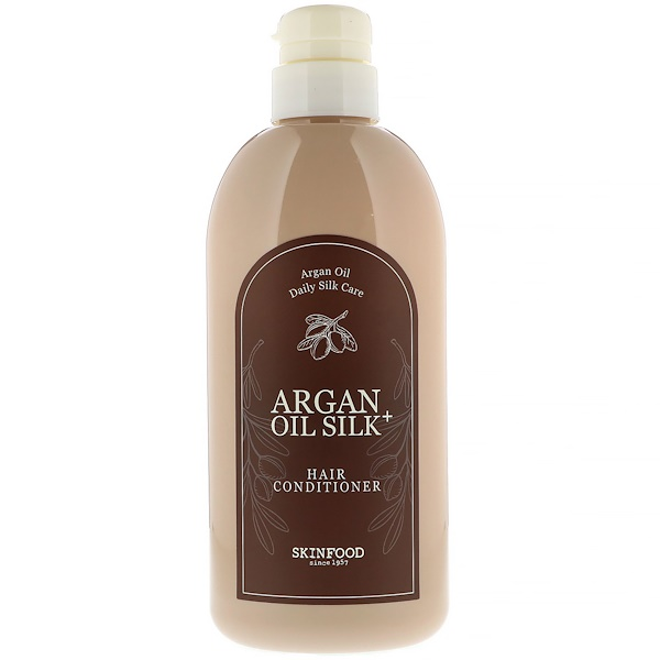 Skinfood, Argan Oil Silk Plus, Hair Conditioner, 16.09 fl oz (500 ml) (Discontinued Item)