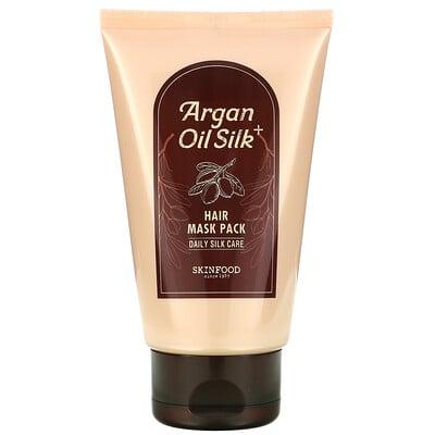 Skinfood Argan Oil Silk Plus Hair Mask Pack, 6.76 fl oz (200 g)