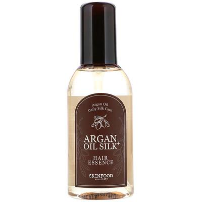 Skinfood Фиксирующая эссенция для волос с аргановым маслом Argan Oil Silk Plus, 3,38 ж. унц. (100 мл)