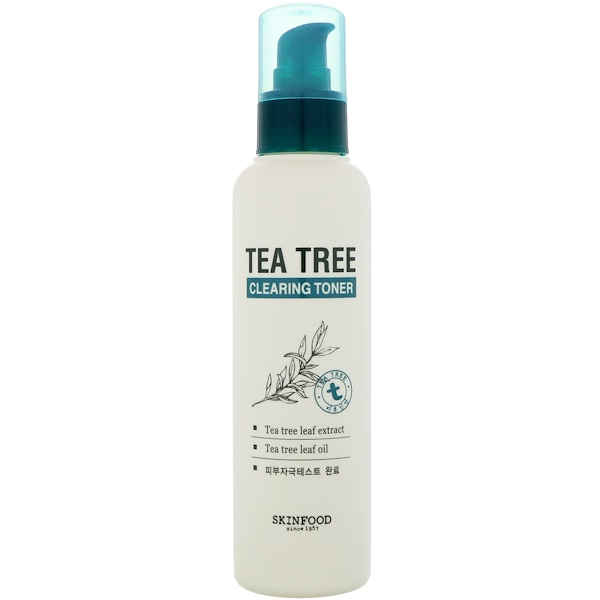 Skinfood, Tea Tree Clearing Toner, 5.07 fl oz (150 ml) (Discontinued Item)