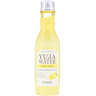 Skinfood, Yuja Water, Emulsion, 160 ml