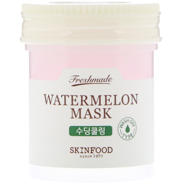 Skinfood, Freshmade Watermelon Mask, Soothing, 90 ml (Discontinued Item)