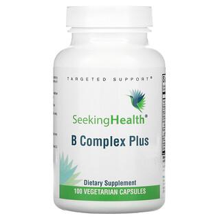 Seeking Health, B Complex Plus, 100 Vegetarian Capsules