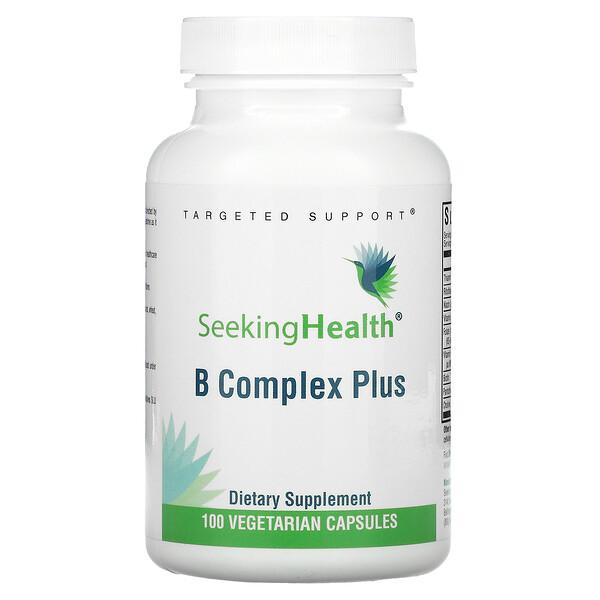 B Complex Plus, 100 Vegetarian Capsules