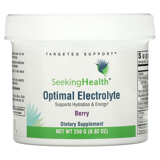 Seeking Health, Optimal Electrolyte, Berry, 8.82 oz (250 g)