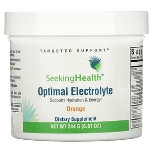 Seeking Health, Optimal Electrolyte, Orange, 8.61 oz (244 g)