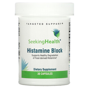 Seeking Health, Histamine Block, 30 Capsules