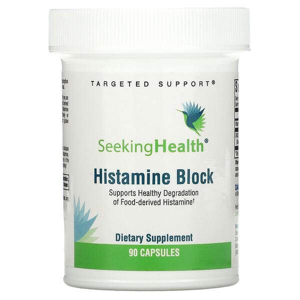 Seeking Health, Histamine Block, 90 Capsules