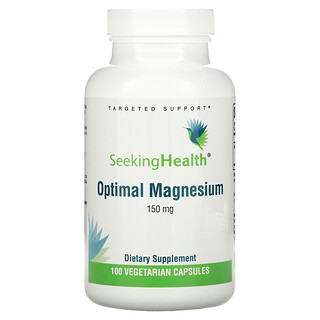 Seeking Health, Optimal Magnesium, 150 mg, 100 Vegetarian Capsules