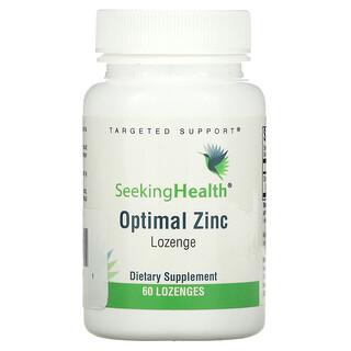 Seeking Health, Optimal Zinc, 60 Lozenges