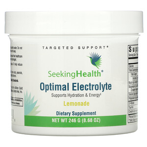Seeking Health, Optimal Electrolyte, Lemonade, 8.68 oz (246 g)
