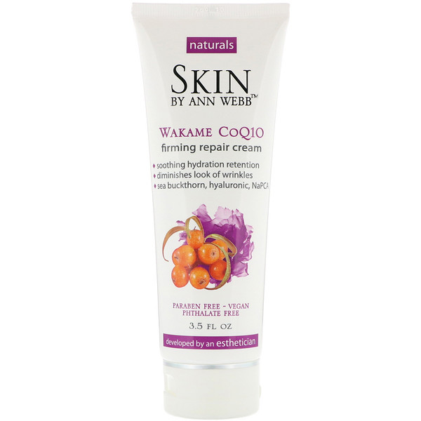 Skin By Ann Webb, Firming Repair Cream, Wakame CoQ10, 3.5 fl oz