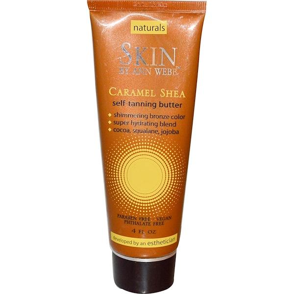 Skin By Ann Webb, Self-Tanning Butter, Caramel Shea, 4 fl oz (Discontinued Item)