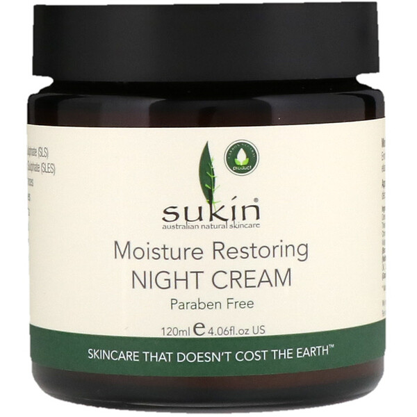 Moisture Restoring Night Cream, 4.06 fl oz (120 ml)
