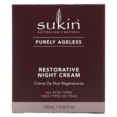 Sukin Purely Ageless, Restorative Night Cream, 4.06 fl oz (120 ml)