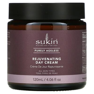 Sukin Purely Ageless, Rejuvenating Day Cream, 4.06 fl oz (120 ml)]