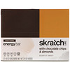 SKRATCH LABS, Anytime Energy Bar, Chocolate Chips & Almonds, 12 Bars, 1.80 oz (50 g) Each