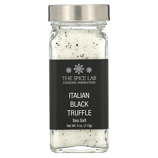 The Spice Lab, イタリア産黒トリュフ海塩、113g(4オンス)