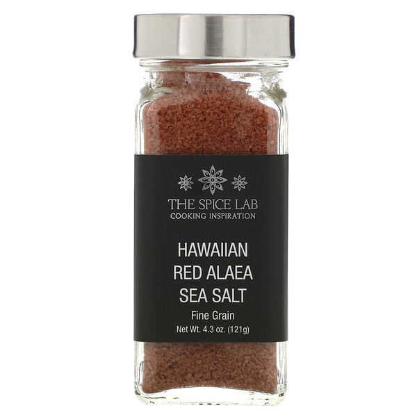 Hawaiian Red Alaea Sea Salt, 4.3 oz (121g)