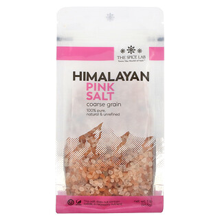 The Spice Lab, Himalayan Pink Salt, Coarse Grain, 1 lb (453 g)