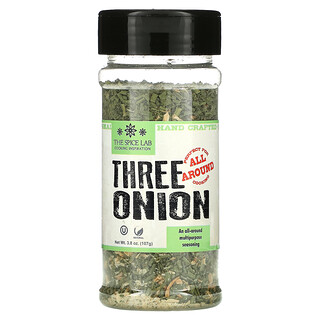 The Spice Lab, Three Onion, 3.8 oz (107 g)