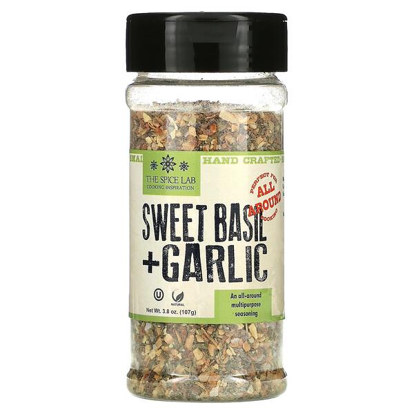 Sweet Basil + Garlic, 3.8 oz (107 g)
