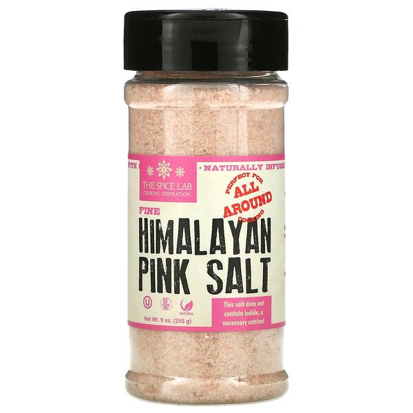 Himalayan Pink Salt, Fine, 9 oz (255 g)