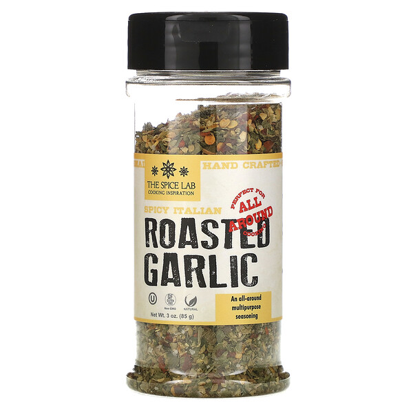 The Spice Lab, Spicy Italian Roasted Garlic, 3 oz (85 g)