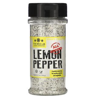 The Spice Lab, Lemon Pepper, 6.7 oz (190 g)