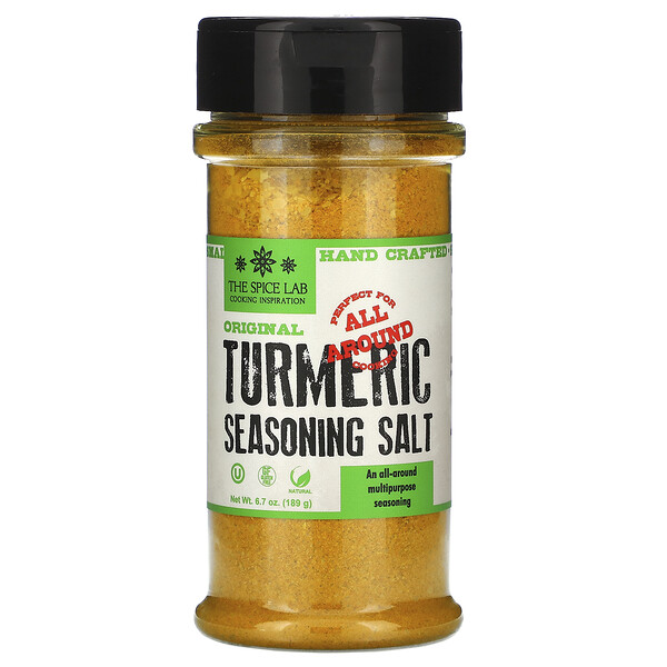 Original Turmeric Seasoning Salt,  6.7 oz (189 g)