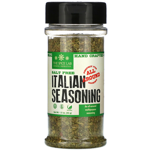The Spice Lab, Italian Seasoning, Salt Free, 1.5 oz (42 g)