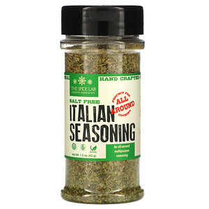 The Spice Lab, Italian Seasoning, Salt Free, 1.5 oz (42 g)