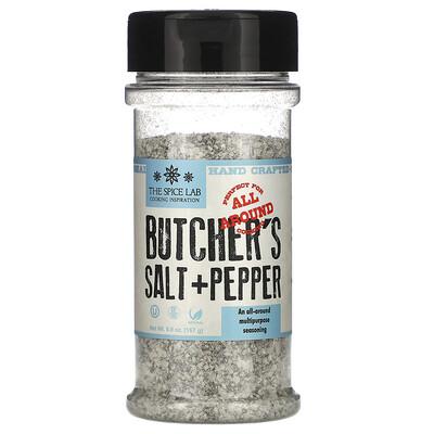 Купить The Spice Lab Butcher's Cut Salt & Pepper, 5.9 oz (167 g)