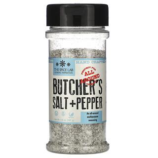 The Spice Lab, ブッチャーズカットソルト&ペッパー、167g(5.9オンス)