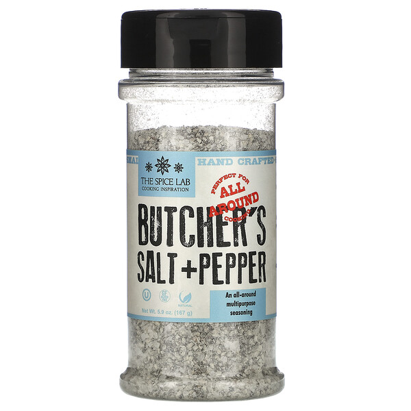 Butcher's Cut Salt & Pepper, 5.9 oz (167 g)